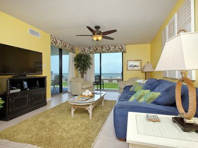 Photo for Beachfront! Our backyard is the Gulf of Mexico! 1st Fl. Unit, FamilyFriendly, AC
