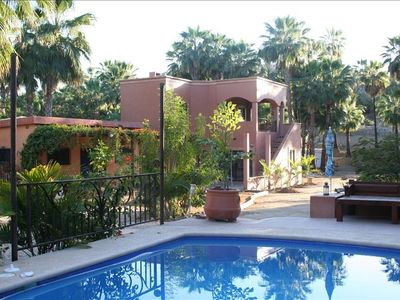 Photo for Peaceful Palm Retreat Walking Distance from Town