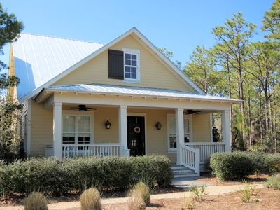 """Photo for In Watercolor """"Cove Hollow"""" 5BR with Guest House & Private Pool"""