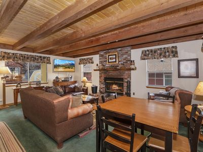Photo for Gypsy Dreams: Walk to Bear Mountain Resort! Pet Friendly with a Fully Fenced Yard! WiFi!