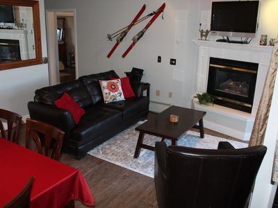 Photo for Ski-In Condo- Walk to everything! Completely Remodeled! Balcony overlooks River!