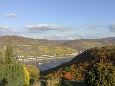 Photo for Fantastic view of the Rhine, Rhine high above Bacharach, up to 6 people