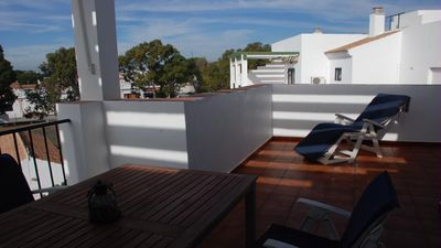 Photo for PENTHOUSE WITH POOL AND GARAGE TWO STEPS FROM THE BEACH AND THE CENTER