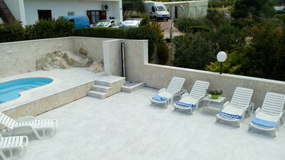 Photo for A3 apartment with pool and sea view terrace