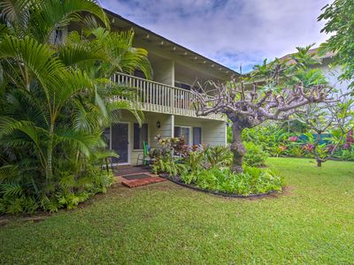 Photo for Convenient Kapa'a Studio - Steps from the Beach!