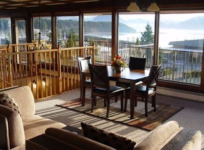 Take in Beautiful Views from the Breakfast Nook/Casual Dining area