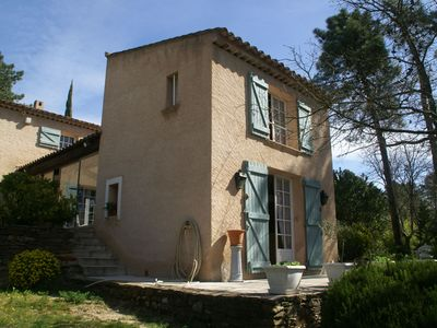 Photo for Romantic Bastide in natural surroundings at Le Muy (7 km)