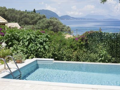 Photo for Villa Pelagia with fantastic views over the sea