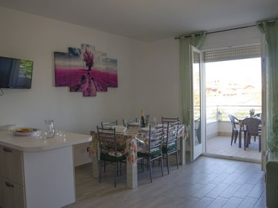Photo for Three-room apartment 300 meters from the Verdesca sea