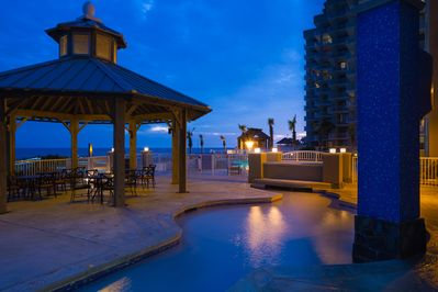 The Shores at Orange Beach Gazeebo by the Pool
