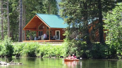Photo for Bull Lake - Lake Creek - Luxury Custom Waterfront Lodge - Troy, MT