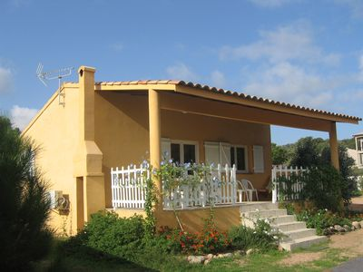 Photo for Mini Villa Letizia 'air-conditioned, 5 minutes from the beach in Santa Guilia