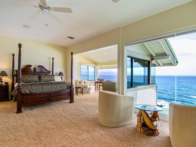 Photo for Kapalua Bay Villa Gold 180* Endless Ocean Views! Direct Beach Front Location!