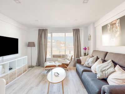 """Photo for Beautiful Holiday Home """"Apartamento Sandy Waves la Carihuela"""" with Ocean View, Wi-Fi & Terrace; Parking Available, Pets Allowed under Request"""