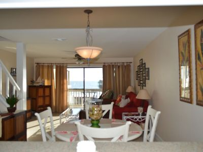 Photo for 2 bedroom Gulf Front Townhome - Amazing Beach Views!