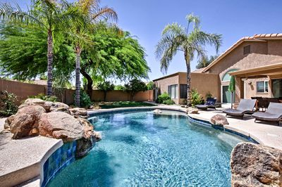 A desert oasis awaits at this 4-bedroom, 2-bath vacation rental home in Phoenix!
