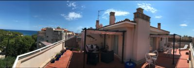 Photo for Stunning 2 Bedroom Penthouse Apartment with spacious 180° Panoramic sun terrace