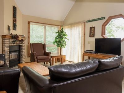 Photo for Tamarack Resort Glade 4 1.5 miles from Downtown Wisconsin Dells