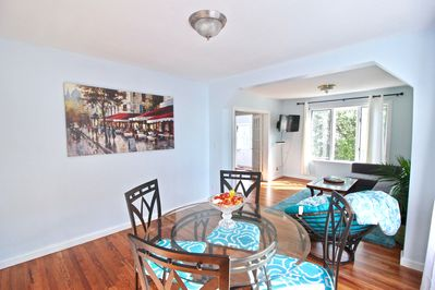 Open layout with the living & dining room... Perfect for socializing