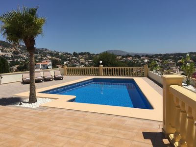 Photo for Two bedroom apartment with stunning views