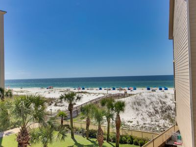 Photo for NEW LISTING! Waterfront condo w/ a shared pool & easy beach access!