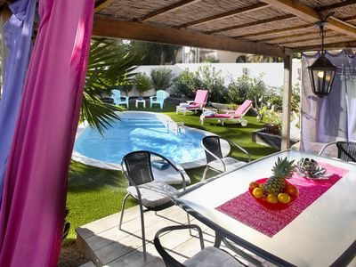 Photo for GULF OF ST TROPEZ LES ISSAMBRES 3 * HEATED POOL 50M BEACH