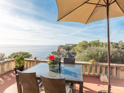 Photo for MIERES - Chalet with sea views in Cala s'Almonia.