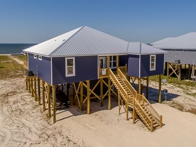 Photo for Blue Oasis – New 2020 5/4 bayfront beachhouse!  Outdoor living, kayaks included!
