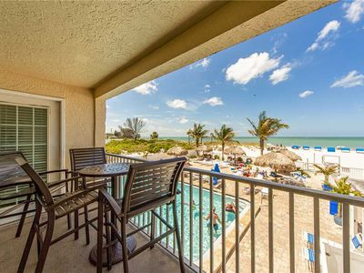 Photo for Direct Beachfront Unit - Free WiFi - Sweeping Gulf & Beach View Private Balcony- Beach Place