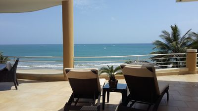 Photo for Beachfront Top-Floor Penthouse In the heart of Cabarete!