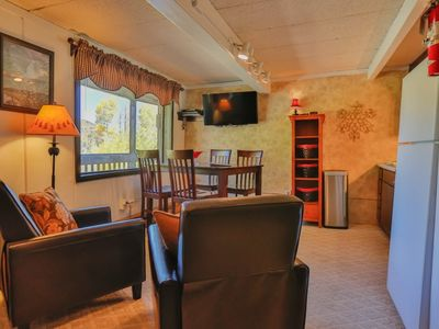 Photo for Slopeside Condo at Sunlight Mountain Resort - Studio. 1 Queen Bed, 2 Twin Murphy Beds