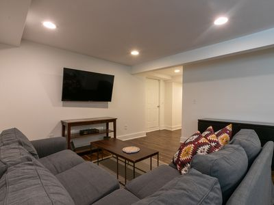 Photo for NEWLY RENOVATED GARDEN APARTMENT