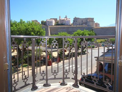 Photo for Modern luxury apartment facing the citadel of Calvi