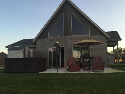 Photo for Bridges Bay Resort - 2 BR + Loft Okoboji Cabin + Hot Tub