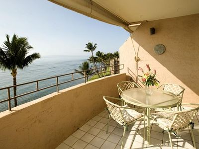 Photo for UP TO 25% OFF  Maalaea 1 Bedroom Oceanfront condo near Aquarium