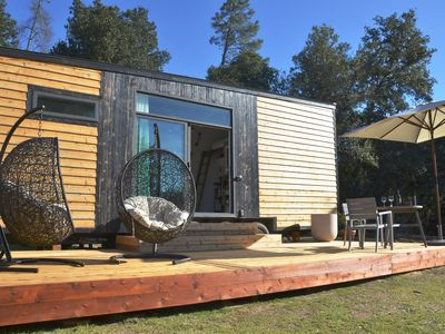 Photo for Ultimate getaway at the most luxurious tiny home surrounded by nature