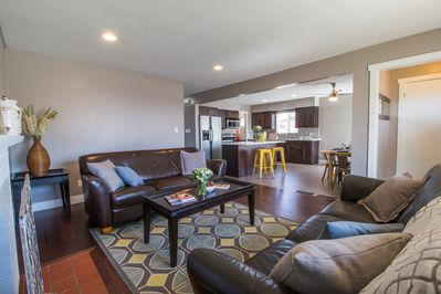 open floorplan - perfect for large groups and entertaining