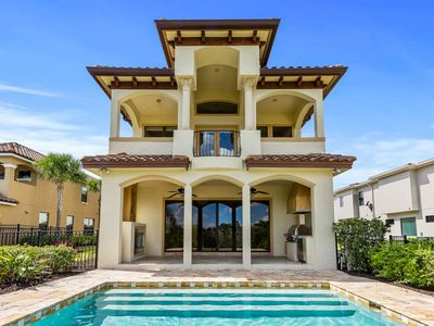 Photo for Golden Escape at Reunion | Pool Home with Golf Course View