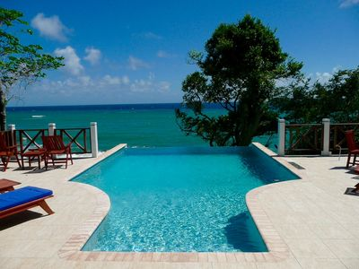 Photo for An Exquisite Luxury Villa Overlooking The Caribbean Sea