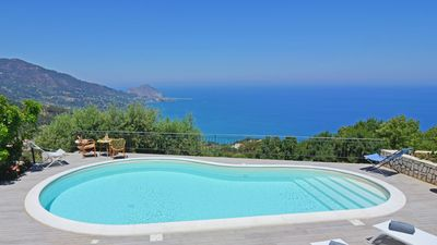 Photo for Villa Il Basto is a handsome, newly renovated villa facing the sea with smooth terraces for relaxing
