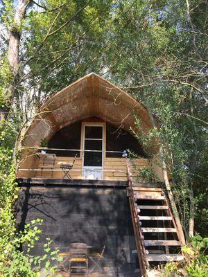 Photo for Glamping en Provence-Bois de Planets Venus glamp on private farmland