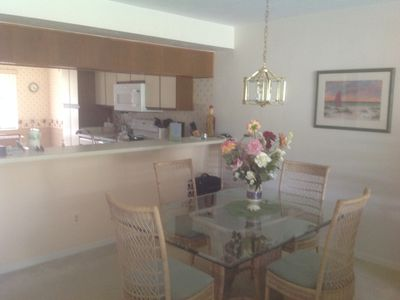 Photo for 2 bedroom condo(sleeps 4) on ground floor of 2 floor units.