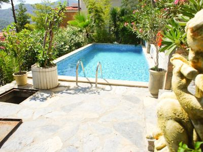Photo for Rental Villa With Private Pool & Sea View Villa Petunya. Luxury villa is located in Göcek Hills which is a private villa complex and looking down onto the Mediterranean Sea.