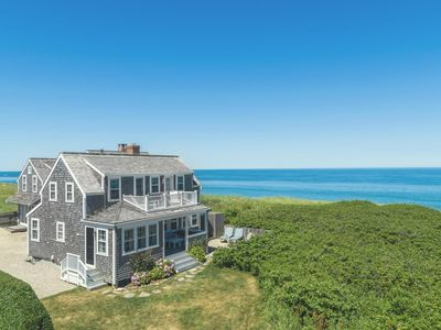 Photo for Seashell: Oceanfront Cottage in Quidnet