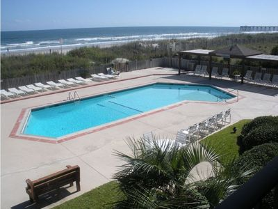 Photo for Beautiful Ocean Front Condo w/Pool at Wrightsville Beach