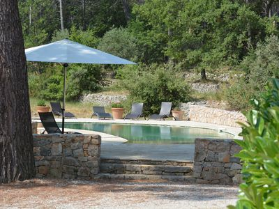 Photo for Charming Bastide in Provence, Private pool salt without any opposite