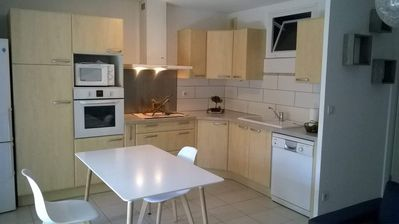 """Photo for T1 apartment for weekly rental (60m2) Méze 15 """"from Balaruc and Sete"""