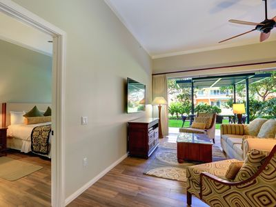 Photo for Ground Floor at Honua Kai Resort, convenient location, steps to the pools