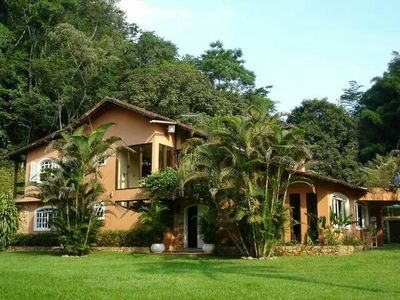 Photo for Walk to Petrópolis, Rio 50min, beautiful cottage with play area