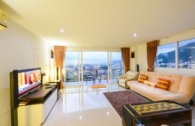 Photo for Patong Oceanview/Poolview 2bedrooms, 2 Balconies